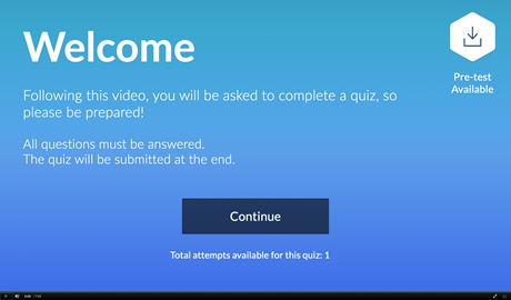 Using Kaltura to Create Quizzes within Videos for D2L