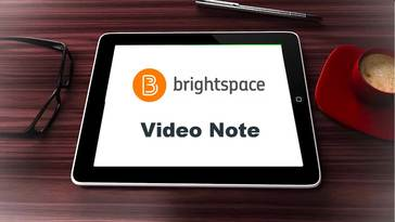 Personalize Your Course Interactions Using Video Note in D2L