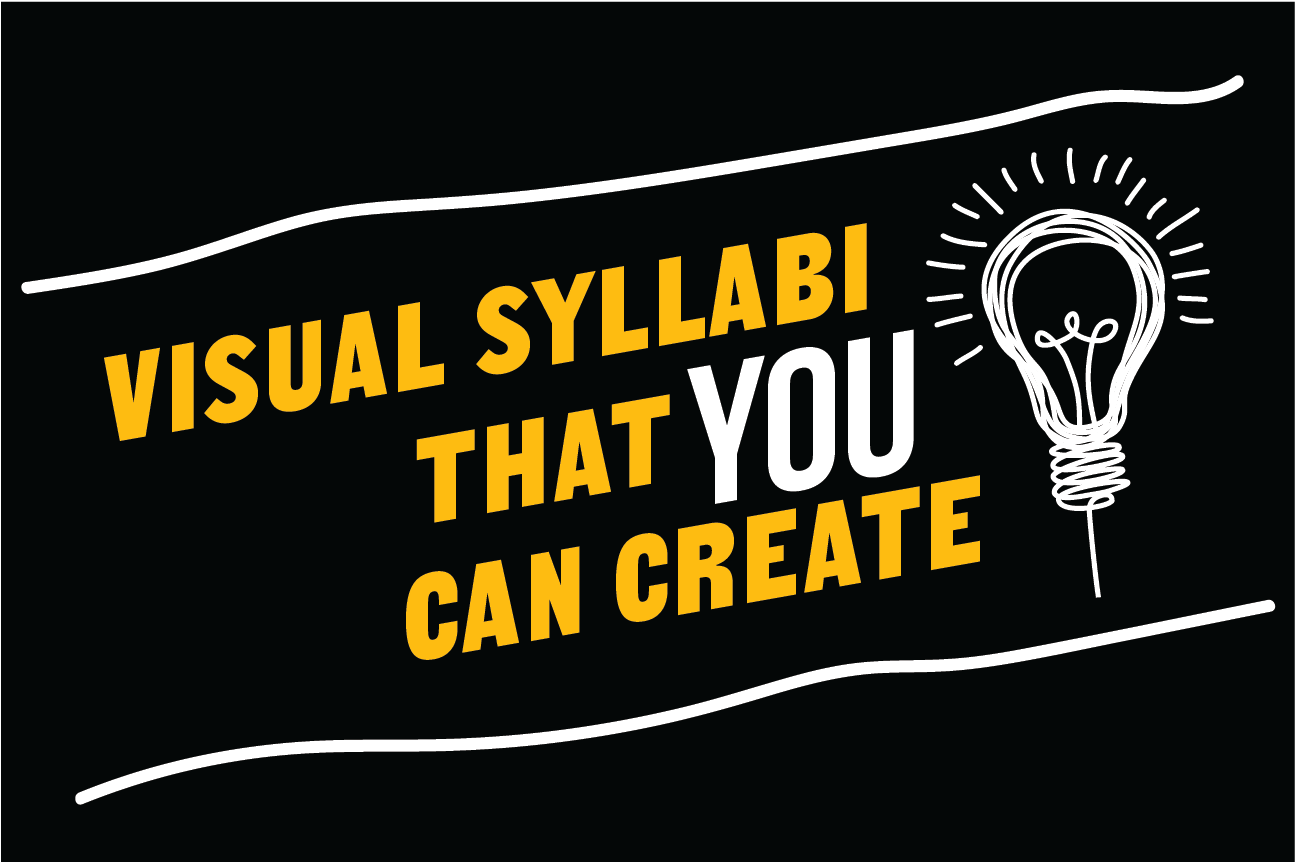 Visual syllabi that YOU can create