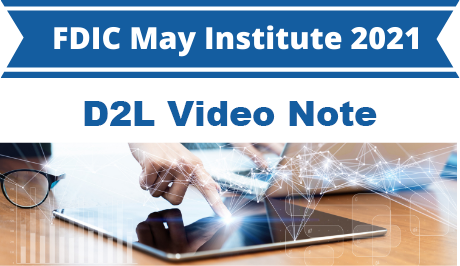 D2L: Use Video Note to Keep Students Informed