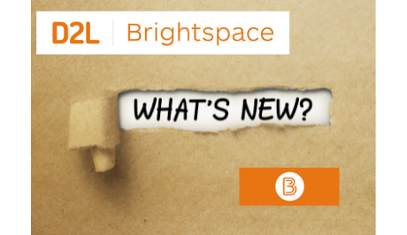 What's New in D2L @ EIU for Fall 2021